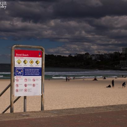Storm clouds over Bondi